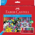 Bộ bút chì màu Faber Castell 111260 - Colour pencil Castle 60x - 60 màu - Hộp giấy