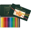 Bộ bút chì màu Faber Castell 110036 - Color Pencil Polychromos tin of 36 - 36 màu - Hộp  thiếc