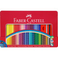 Bộ bút chì màu Faber Castell 112448 - Colour Pencil Colour Grip 48 metal tin with accessories - 48 màu - Hộp giấy