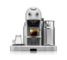 Máy pha cà phê Nespresso Gran Maestria - Platinum Silver