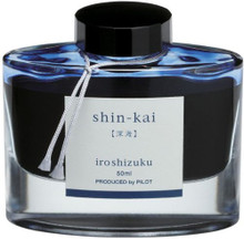 Mực Pilot Iroshizuku, 50ml, Shin-Kai, Deep Sea, Blue Black
