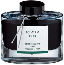 Mực Pilot Iroshizuku, 50ml, Syo-Ro, Dew on Pine Tree, Dark Turquoise