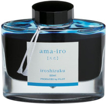Mực Pilot Iroshizuku, 50ml, Ama-Iro, Light Blue