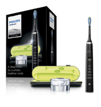 Philips Sonicare DiamondClean 3rd Generation Electric Toothbrush, Black Edition