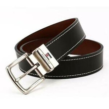 Thắt lưng Tommy Hilfiger Reversible Leather Belt - Casual for Mens Jeans with Double Sided Strap and Silver Buckle - Size 34 - 11TL08X009