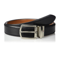 Thắt lưng Tommy Hilfiger Reversible Leather Belt - Casual for Mens Jeans with Double Sided Strap and Silver Buckle - Size 34 - 11TL02X188
