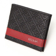 Ví nam Guess Men's Leather Bifold With Fashion Details - 31GU13X008