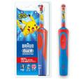 Bàn chải đánh răng điện trẻ em Oral-B Electric Toothbrush Featuring Pikachu Characters (Màu đỏ)