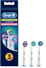 Set 3 đầu bàn chải Oral-B CrossAction, 3DWhite, Sensitive - 90733848