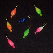#10 Neon Sparkle Tear Drop