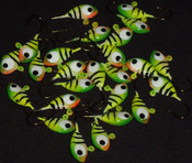 Bulk Jigs w/# 8 hooks (25pcs of same color)