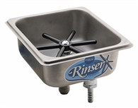 Steaming Pitcher Rinser: Flush Mount by Krome Dispense