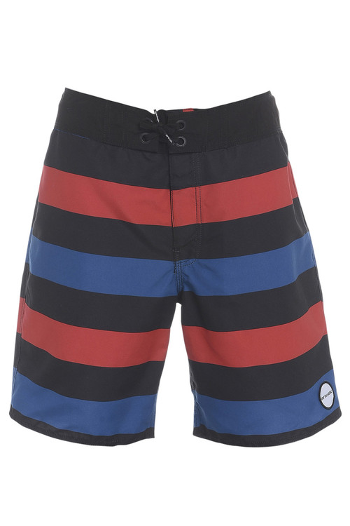 Animal Mens Board Shorts BishopsgateDesign in Blue. Front view.