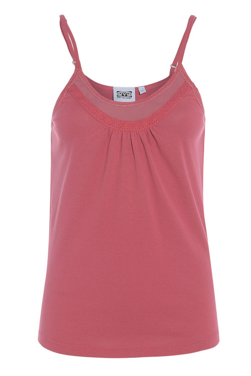 Animal Womens Top Cassidie Design in Paradise Pink.