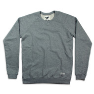 Silverstick Mens Sweat Shirt Nias Design in Ash Marl.