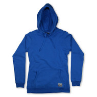 Silverstick Womens Hoodie Lancelin Design in Atlantic Blue.  Front view.