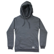 Silverstick Womens Hoodie Lancelin Design in Charcoal.  Front view.