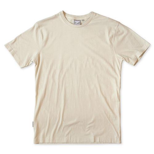 Silverstick Mens T-Shirt in Stone.