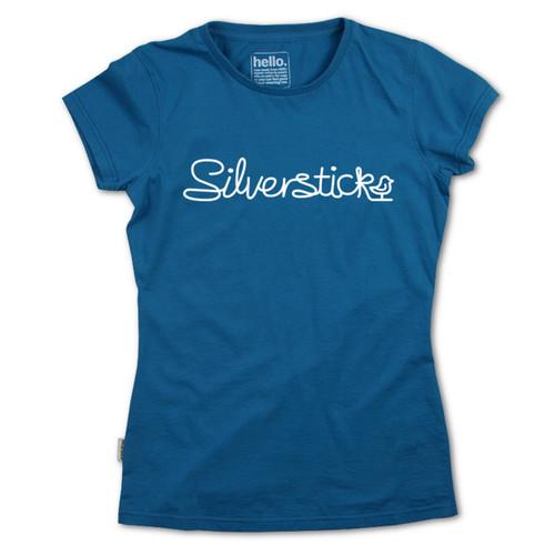 Silverstick Women's Top Hand Drawn Design in Celestial.