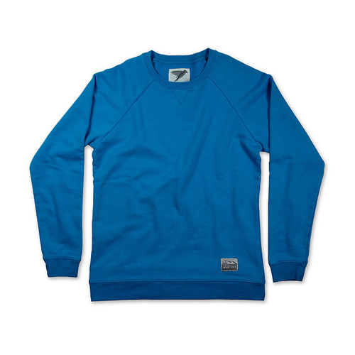 Silverstick Womens Sweat Shirt Beau Design in Dresden Blue.