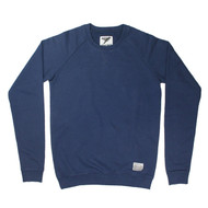 Silverstick Mens Sweat Shirt Nias Design in Navy Blue.