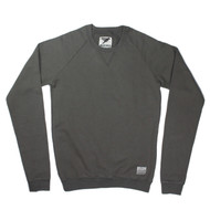 Silverstick Mens Sweat Shirt Nias Design in Slate Grey.
