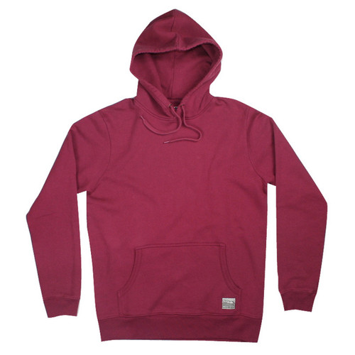 Silverstick Mens Hoodie Ellerton Design in Beaujolais.