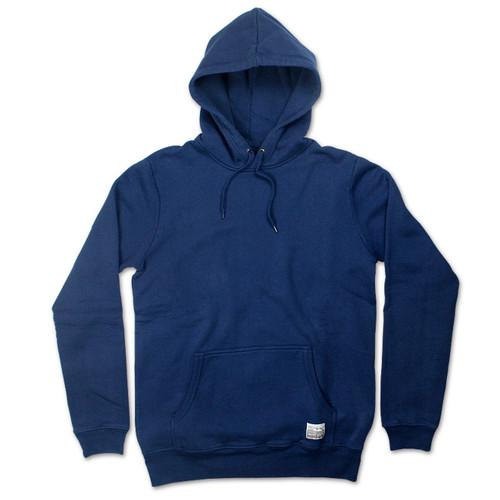 Silverstick Mens Hoodie Ellerton Design in Navy Blue.