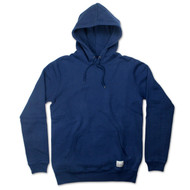 Silverstick Mens Hoodie Ellerton Design in Navy Blue.