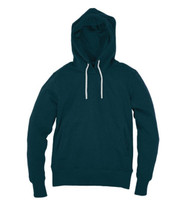 Kahuna Womens Hoodie Organic Pullover in Denim Blue.
