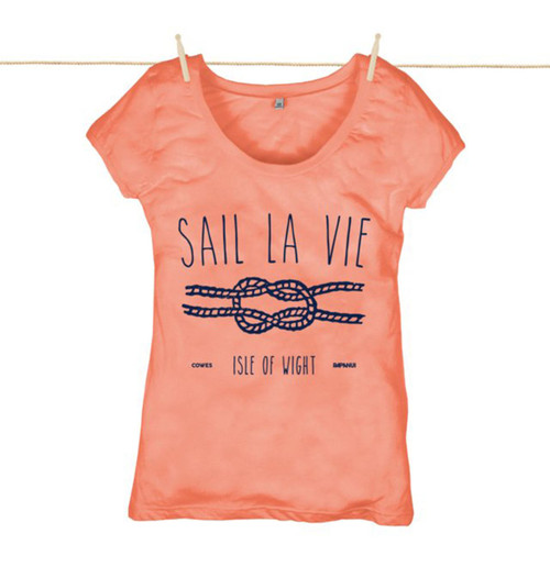 Kahuna Womens Top Sail La Vie Design in Coral.