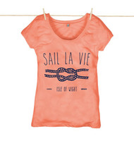 Kahuna Womens Top Sail La Vie Design in Coral.