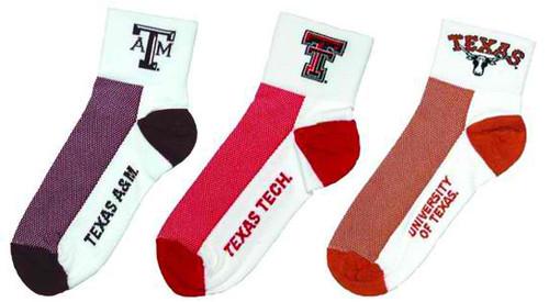 Gizmo Performance Texas Colligate Socks