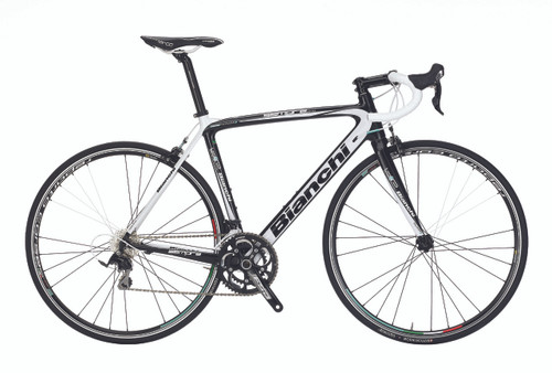 Bianchi B4P Sempre Pro SRAM 22 equipped Carbon Bicycle, White - Build It Your Way