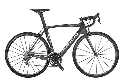 Bianchi HoC Oltre XR.2 SRAM 22 equipped Carbon Bicycle, Black - Build It Your Way