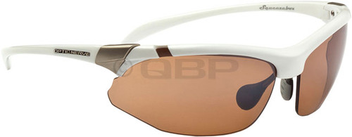Optic Nerve Hermosa Performance IC Deuce Shiny White Sunglasses
