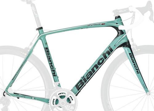 Bianchi C2C Infinito CV Frameset, Celeste Green