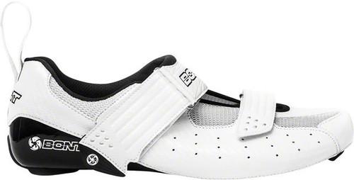 Bont Riot Cycling Road | Tri Shoes, White