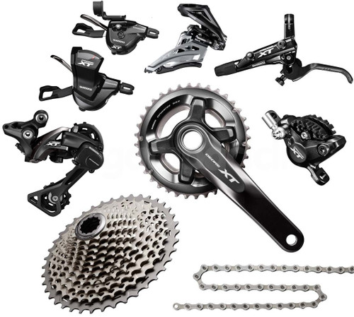 Shimano Deore XT 8000 Groupset with M8000 Chainrings