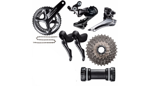 Shimano Dura-Ace  R9100 STI Groupset (less calipers)