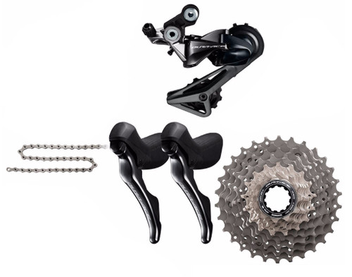 Shimano Dura-Ace  R9100 STI 4 Piece Conversion Kit