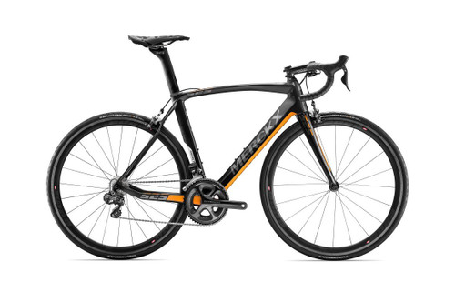 Eddy Merckx 525 Endurance Campagnolo EPS equipped Carbon Bicycle, Black Anthracite & Orange Satin Accents - Build It Your Way
