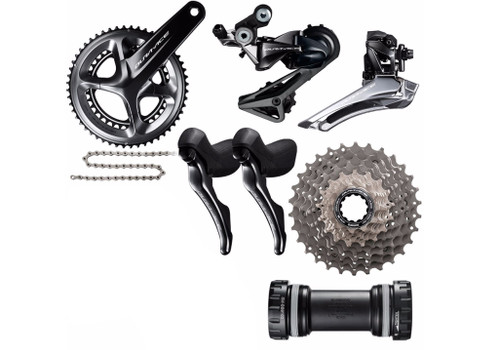 Shimano Dura-Ace  R9100 | ST-RS685 Hydraulic STI Groupset (less calipers)