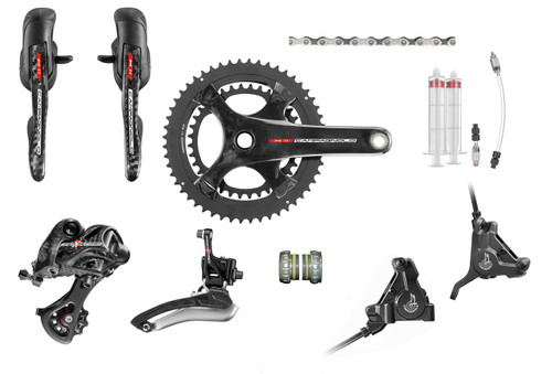 Campagnolo Super Record H11 Hydraulic Ergo Groupset (less cassette)