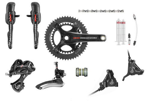 Campagnolo Record H11 Hydraulic Ergo Groupset (less cassette)