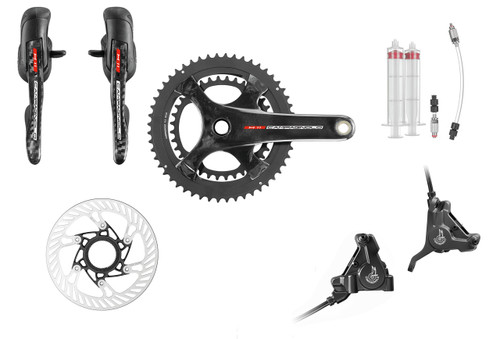 Campagnolo H11 Hydraulic Flat Mount Ergo Conversion Kit | Daily Deal