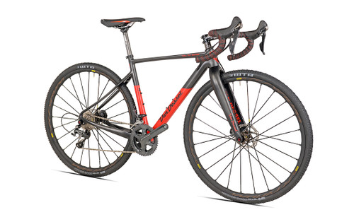 Van Dessel Full Tilt Boogie Disc Campagnolo H11 Hydraulic Ergo equipped Carbon Bicycle, Red / Black - Build It Your Way