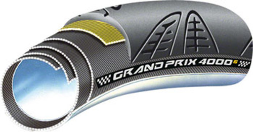 Continental Grand Prix 4000S Tubular Tire, 700c x 22mm