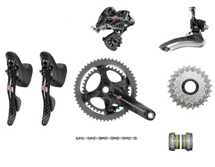 Campagnolo Record Ergo Groupset (less calipers)