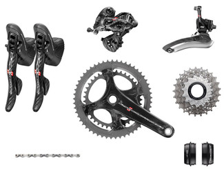 Campagnolo Super Record Ergo Groupset (less calipers)